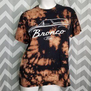 FORD BRONCO black acid wash tshirt